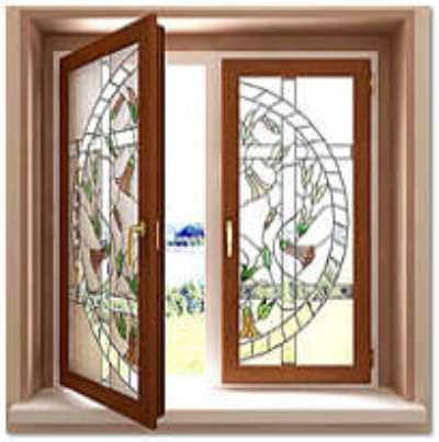 Дизайн окна: накладные украшения и фурнитура