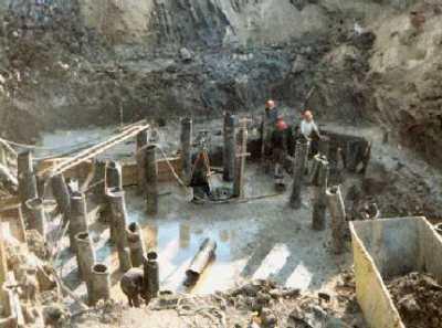 Фундамент на буронабивных сваях – перспективное направление в строительстве