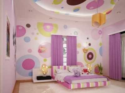 Создаем уютный интерьер детской комнаты для девочки