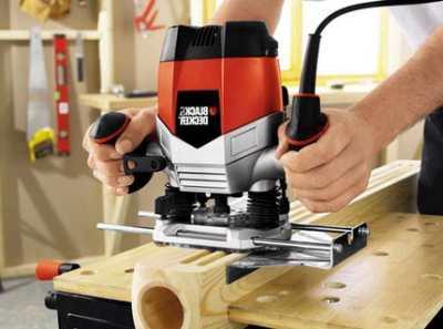 Работа ручным фрезером – видео-советы для начинающего мастера