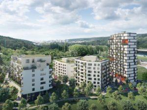 квартиры в новостройке Братиславы